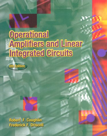 Operational Amplifiers and Linear Integrated Circuits  6th 2001 edition cover