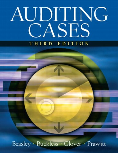 Auditing Cases An Interactive Learning Approach 3rd 2006 (Revised) edition cover