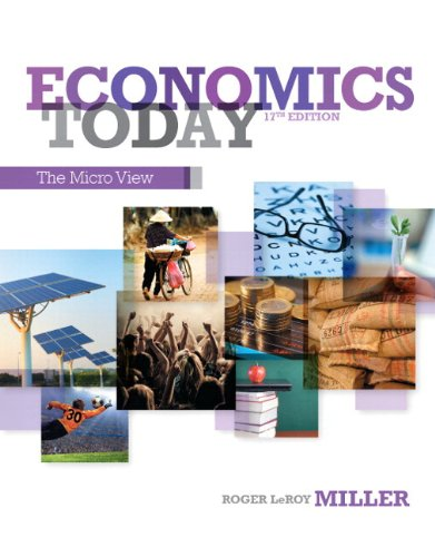 Economics Today The Micro View Plus NEW MyEconLab with Pearson EText -- Access Card Package 17th 2014 edition cover