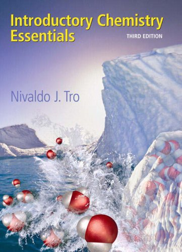 Introductory Chemistry Essentials  3rd 2009 edition cover