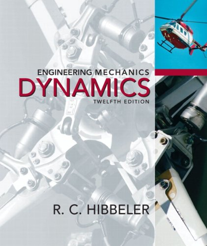 Engineering Mechanics Dynamics 12th 2010 9780136077916 Front Cover