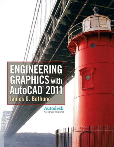 Engineering Graphics with Autocad 2011   2011 edition cover