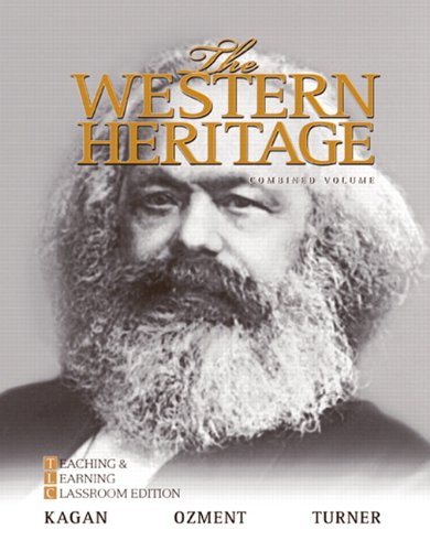 Western Heritage, 1300-1815  6th 2010 (Teachers Edition, Instructors Manual, etc.) edition cover