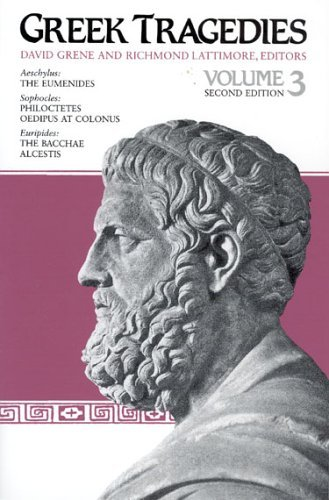 Greek Tragedies  2nd 9780226307916 Front Cover