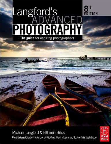 Langford's Advanced Photography The Guide for Aspiring Photographers 8th 2011 (Revised) edition cover