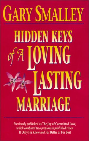 Hidden Keys of a Loving, Lasting Marriage   1993 9780310402916 Front Cover