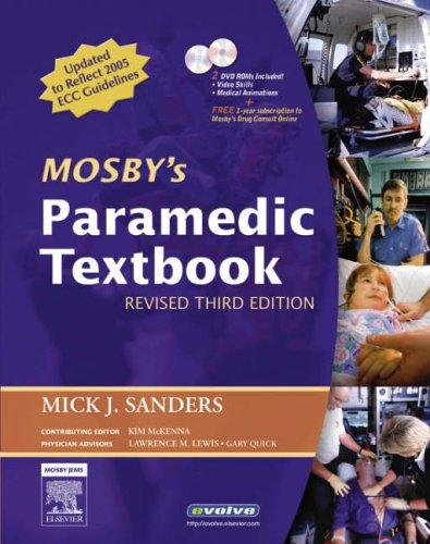 Paramedic  3rd 2006 (Revised) edition cover