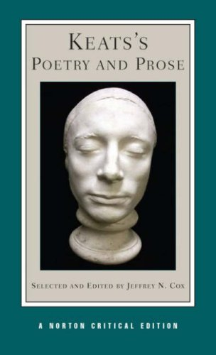 Keats's Poetry and Prose   2007 edition cover
