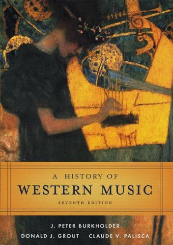 History of Western Music  7th 2005 edition cover