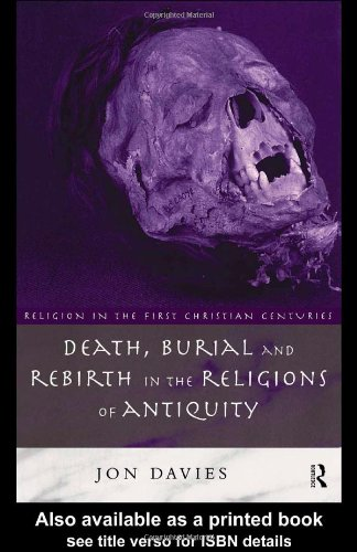 Death, Burial and Rebirth in Religions of Antiquity   1999 edition cover