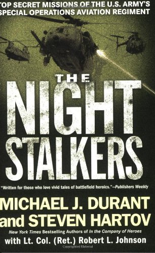 Night Stalkers Top Secret Missions of the U. S. Army's Special Operations Aviation Regiment N/A 9780451222916 Front Cover
