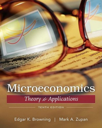 Microeconomic Theory and Applications 10th 2009 edition cover