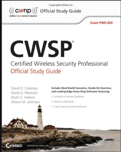 CWSP Certified Wireless Security Professional  2010 (Student Manual, Study Guide, etc.) edition cover