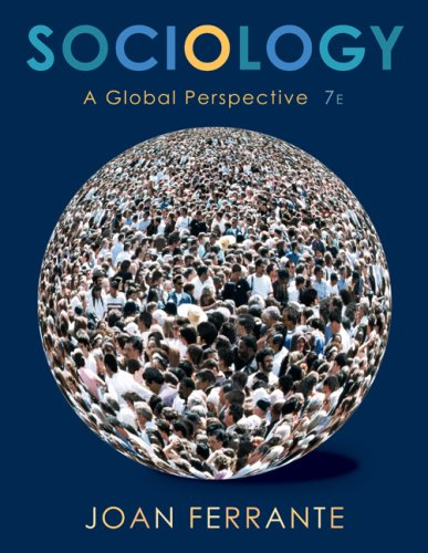 Sociology A Global Perspective 7th 2008 edition cover