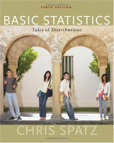 Basic Statistics Tales of Distributions 10th 2010 edition cover