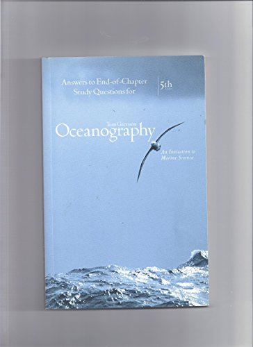 Ans Eoc Oceanography 5e  5th 2005 9780534408916 Front Cover
