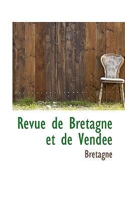 Revue de Bretagne et de Vendte N/A edition cover