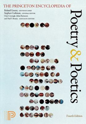 Princeton Encyclopedia of Poetry and Poetics  4th 2012 (Revised) edition cover