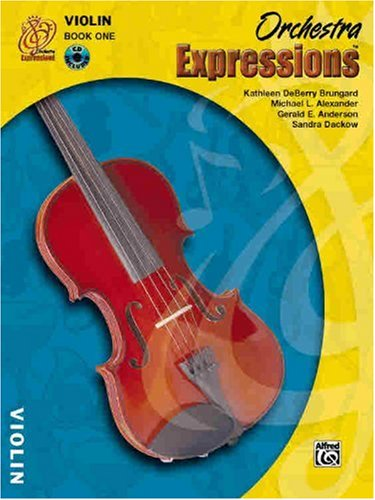 Orchestra Expressions, Book One Student Edition Violin, Book and CD  2004 edition cover
