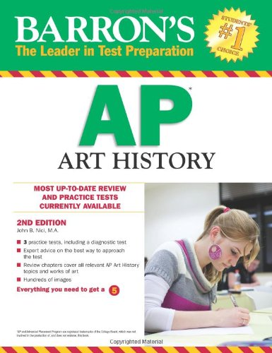 Barron's AP Art History, 2nd Edition  2nd 2012 (Revised) edition cover
