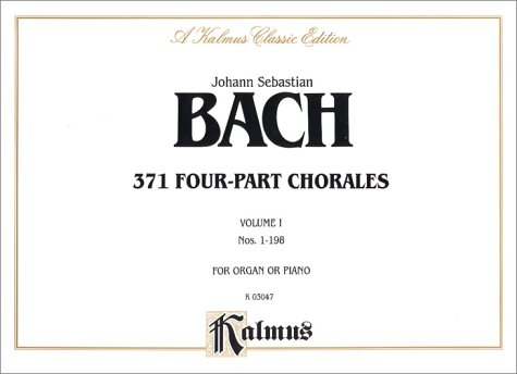 371 Four-Part Chorales   1985 edition cover