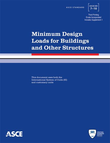 Minimum Design Loads for Buildings and Other Structures, Third Printing Asce/sei 7-10  2013 edition cover