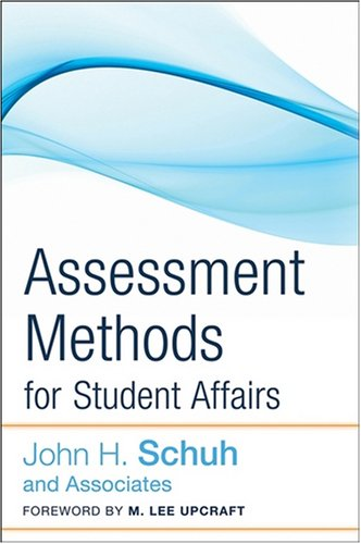 Assessment Methods for Student Affairs   2009 edition cover