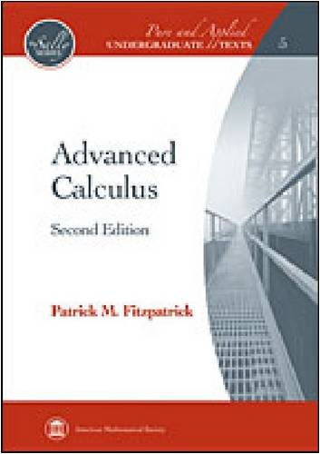 Advanced Calculus  2nd 2009 (Revised) edition cover