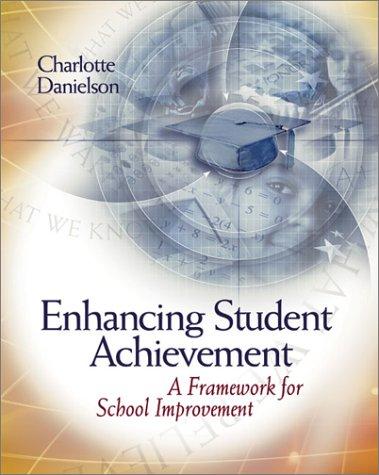 Enhancing Student Achievement A Framework for School Improvement  2002 edition cover