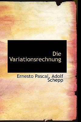 Die Variationsrechnung:   2009 edition cover