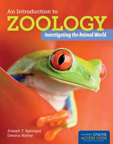 Introduction to Zoology   2013 edition cover