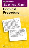 Law in a Flash Cards Criminal Procedure 2013 Student Manual, Study Guide, etc. edition cover