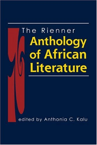 Rienner Anthology of African Literature   2007 edition cover