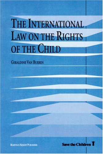 International Law on the Rights of the Child  N/A edition cover