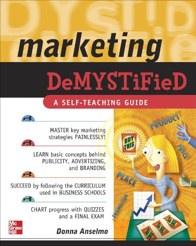 Marketing Demystified   2010 edition cover