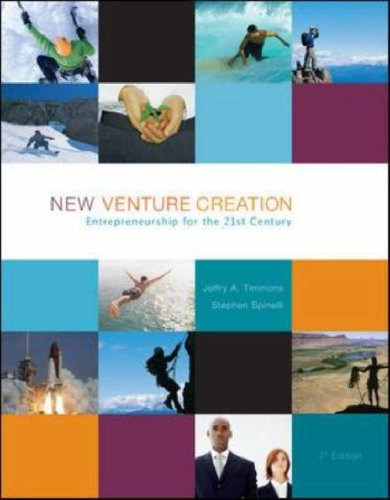 New Venture Creation Entrepreneurship for the 21st Century 7th 2007 (Revised) 9780073285917 Front Cover