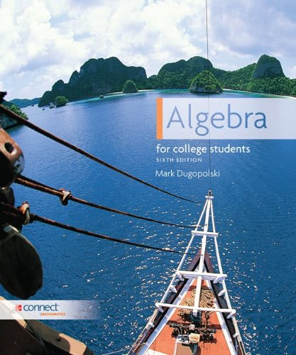 Algebra for College Students  6th 2012 edition cover