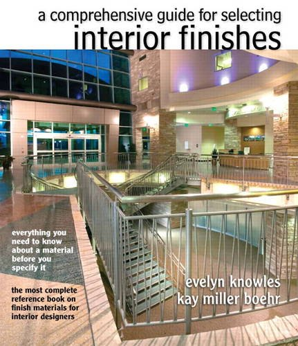 Comprehensive Guide for Selecting Interior Finishes   2014 edition cover