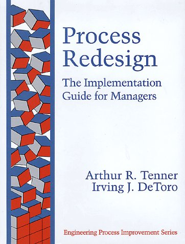 Process Redesign The Implementation Guide for Managers  1997 edition cover