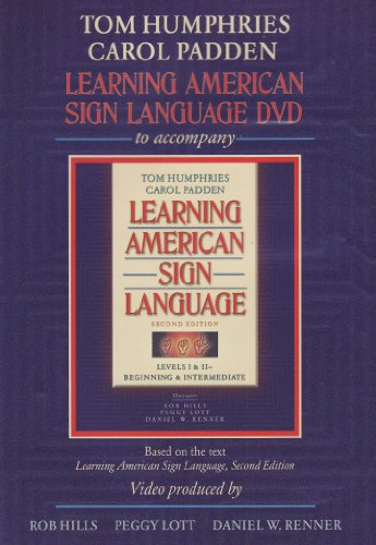 Learning American Sign Language, Levels I and II Beginning and Intermediate 2nd 2004 edition cover