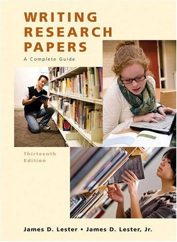 Writing Research Papers (Spiral)  13th 2010 edition cover