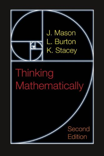Thinking Mathematically  2nd 2010 edition cover