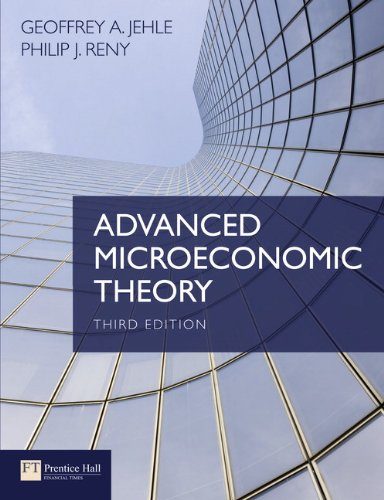 Advanced Microeconomic Theory  3rd 2011 (Revised) edition cover