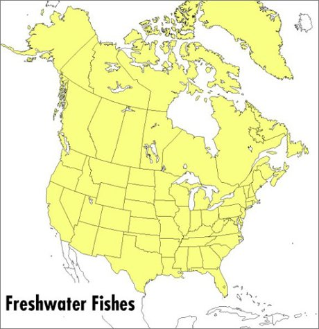 Field Guide to Freshwater Fishes North America North of Mexico 2nd 1998 edition cover