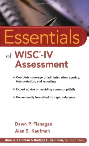 Essentials of WISC-IV Assessment   2004 9780471476917 Front Cover