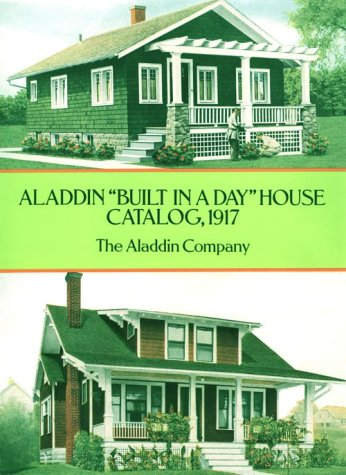 "Aladdin ""Built in a Day"" House Catalog 1917  17th 1995 edition cover"