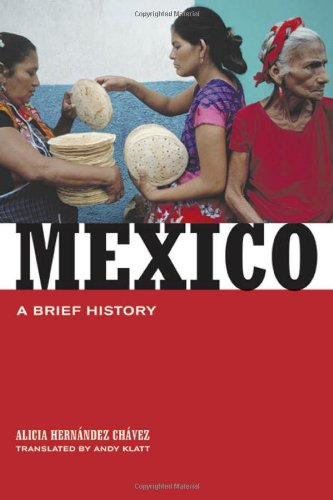 Mexico A Brief History  2006 edition cover