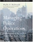 Managing Police Operations Implementing the NYPD Crime Control Model Using COMPSTAT  2002 9780534539917 Front Cover