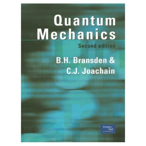 Quantum Mechanics  2nd 2000 (Revised) edition cover