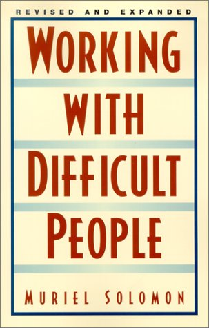Working with Difficult People  2nd 2002 (Revised) edition cover